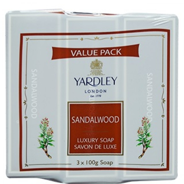 Yardley Sandal Wood 3+100gm