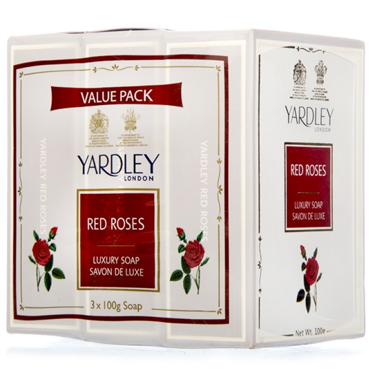 Yardley Red Rose 3+100gm