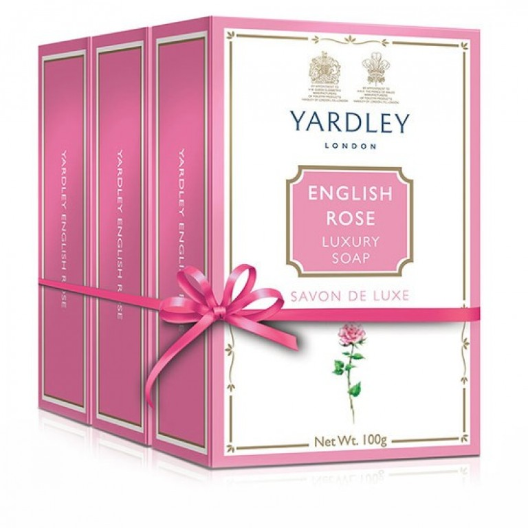 Yardley English Rose 3+100gm