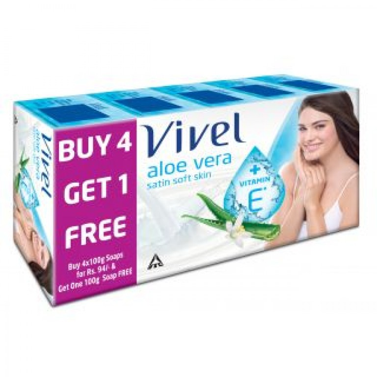 vivel aloe vera soap 4 in 1