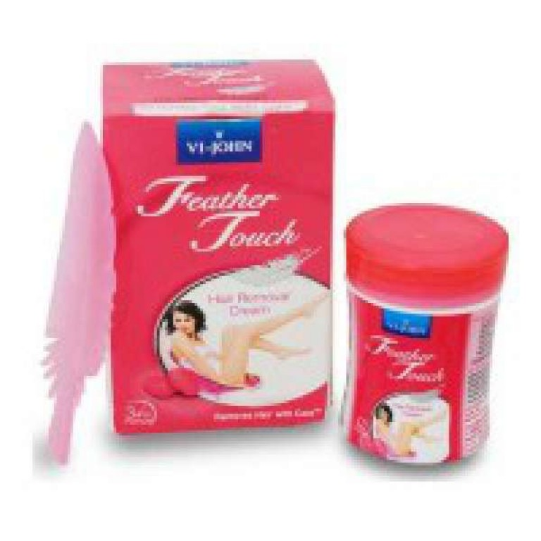 Feather Touch hair removal normal skin Rose and aloe vera 40gm