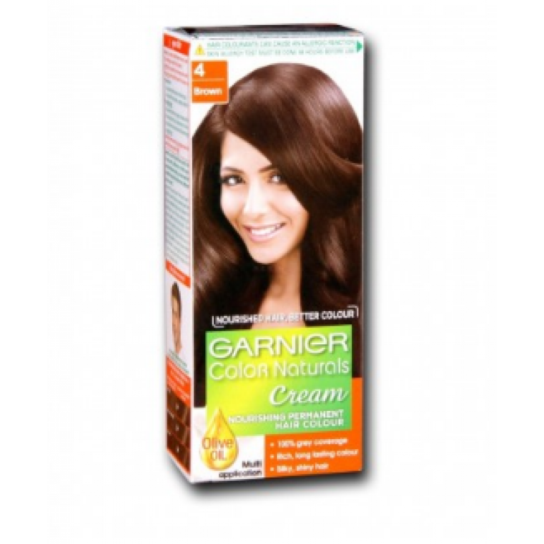 Garnier Color Naturals No. 4 (Brown)