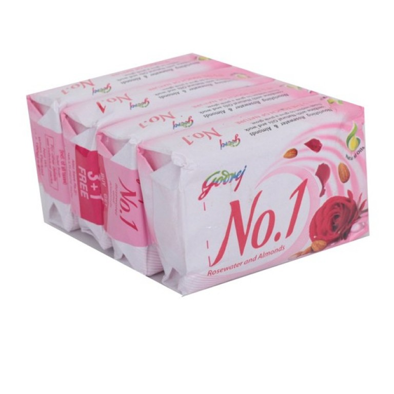 No.1 Rose Water A Soap 4* 100g