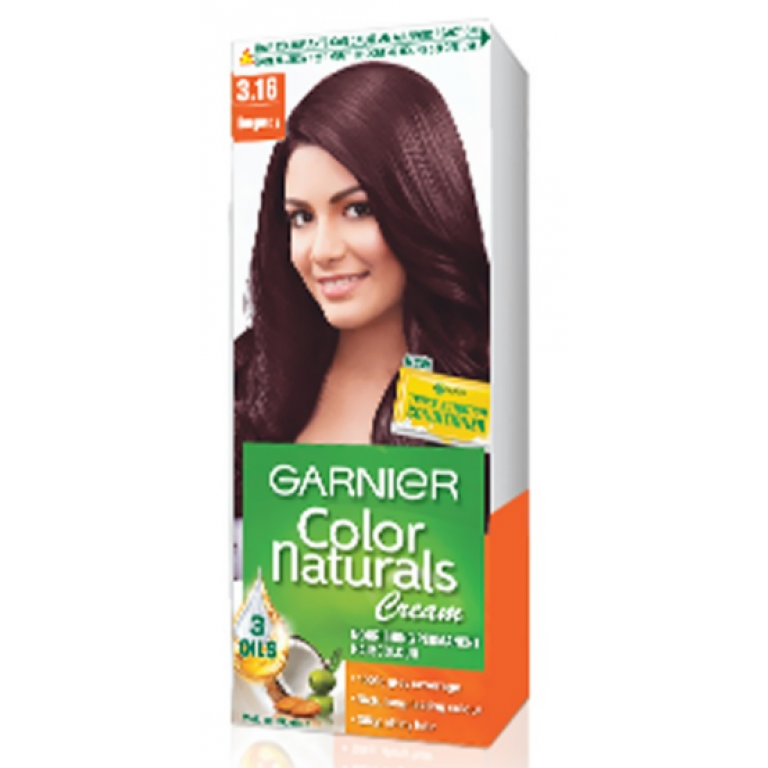 Garnier Color Naturals Hair Color Shade 3.16 Burgundy