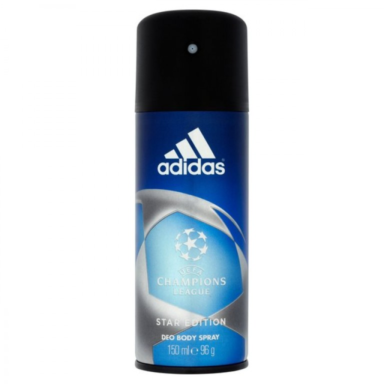 adidas deo body spray champions league 150ml