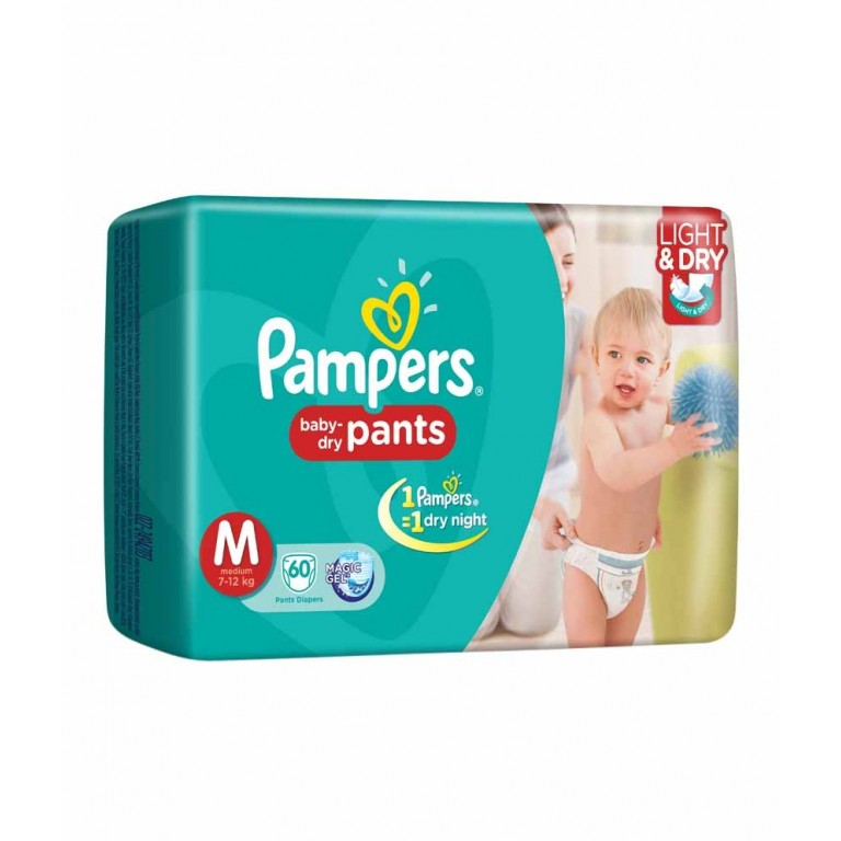 Pampers M 40Pants