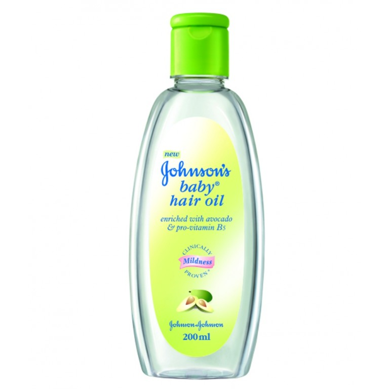 Johnson Baby Hair oil