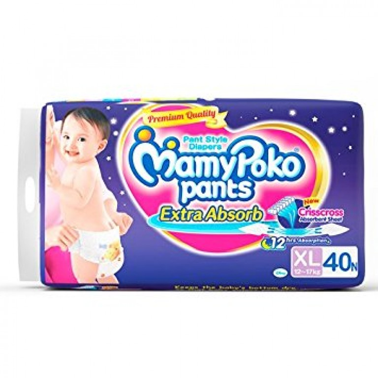 Mamy poko pants Extra absorb criss cross absorption XL 12-17kg 40n