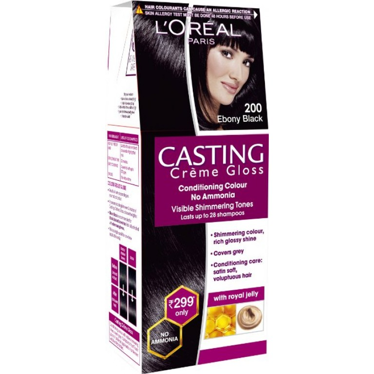 loreal CG E Black 200= 21g+24ml