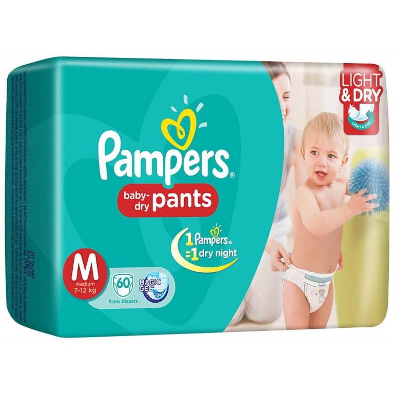 Pampers M 60Pants