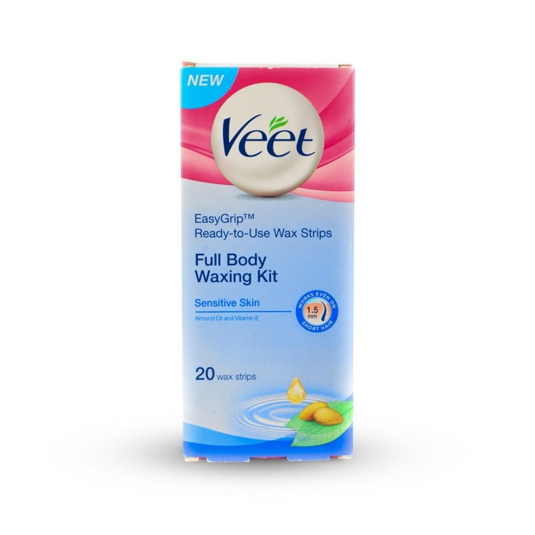 veet instant waxing kit sensitive skin