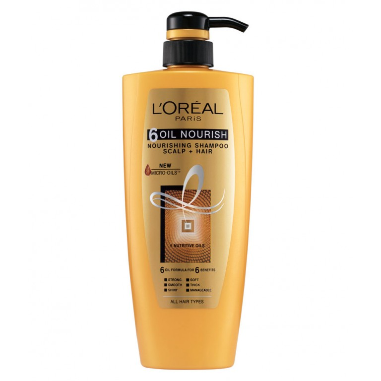 Loreal 6 oil nourish 640 ml