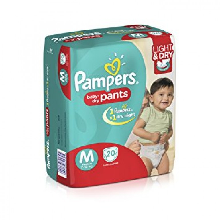 Pampers M 20pants