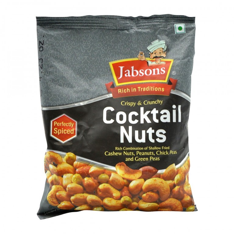 Jabsons Crispy and Crunchy  Cocktail Nuts 120g