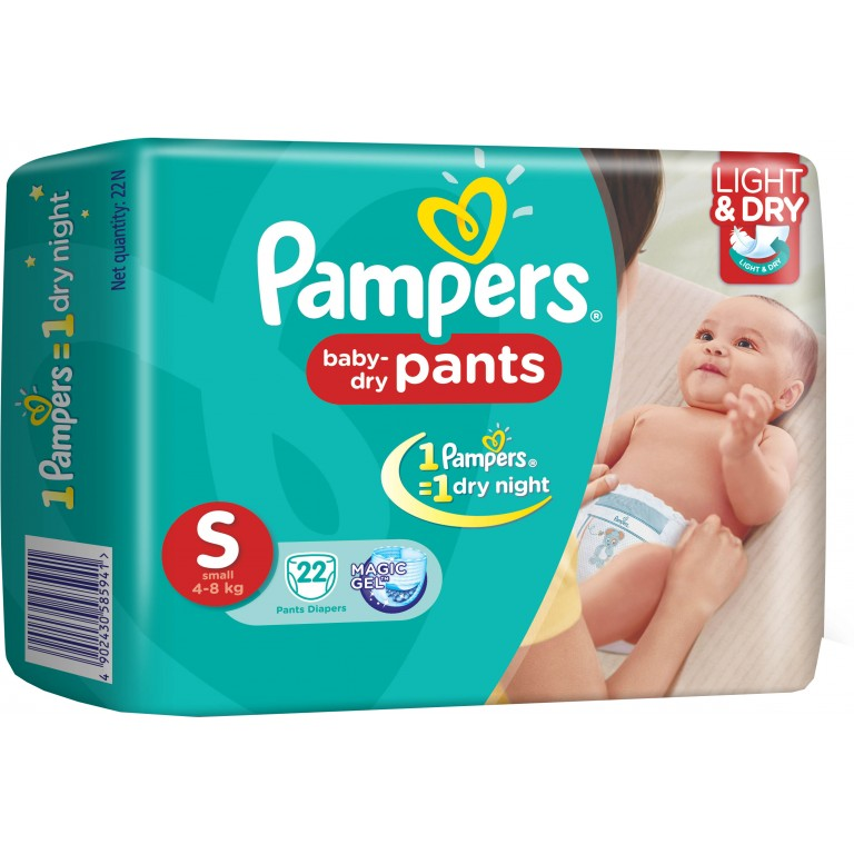 Pampers S 22Pans