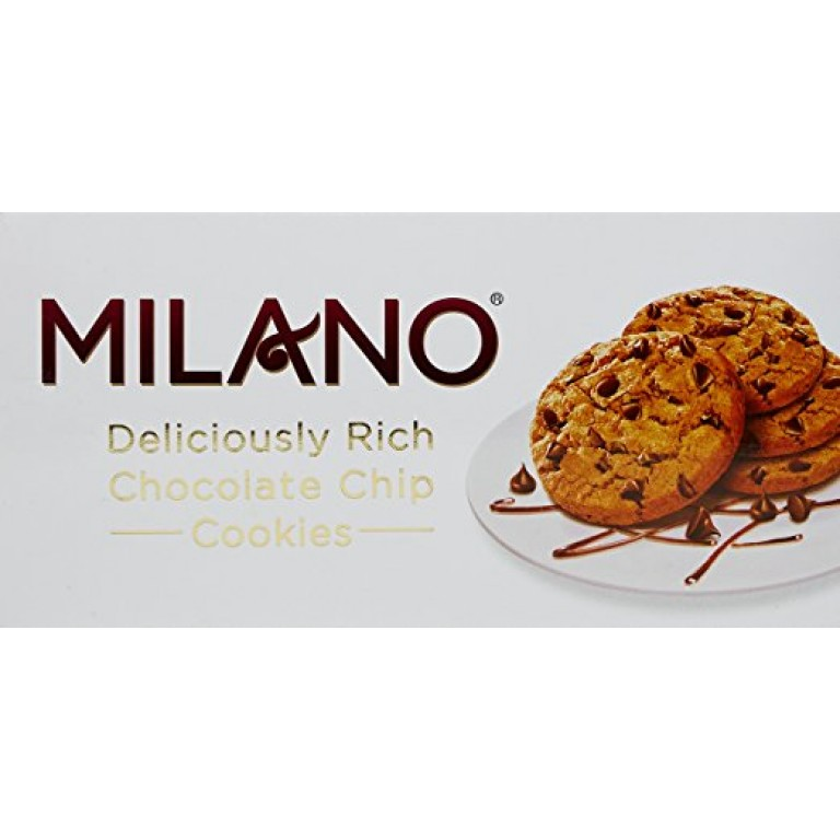 milano chocolate chip cookies pure cookies love 120g