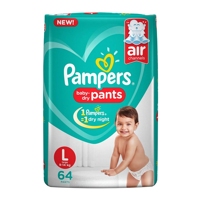 Pampers Baby Pants L-64