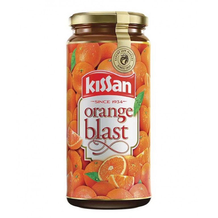 Kissan Orange Blust Jam 320gm