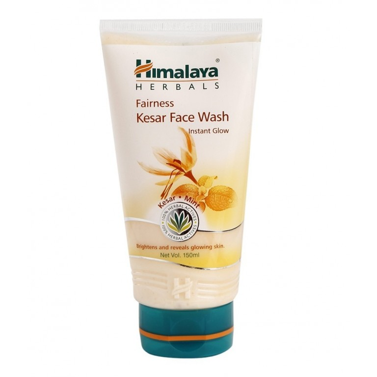 himalaya fairness kesar F/W instant glow 100ml