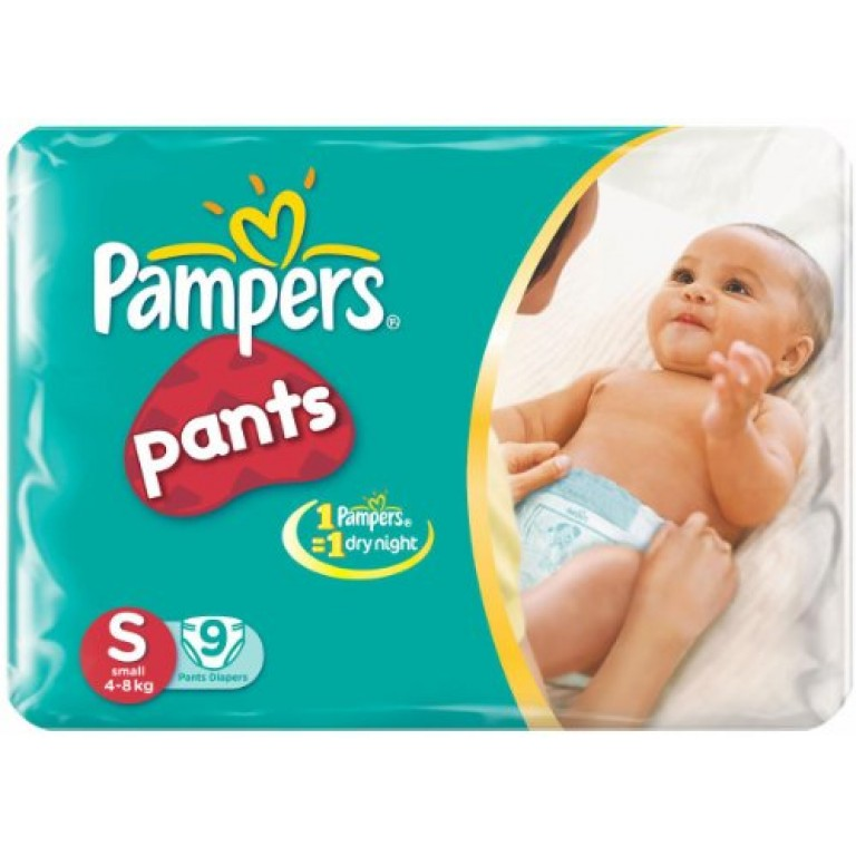 Pampers S 9Pants