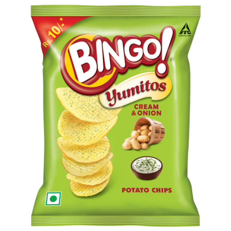 Bingo Yumitos Cream & Onion