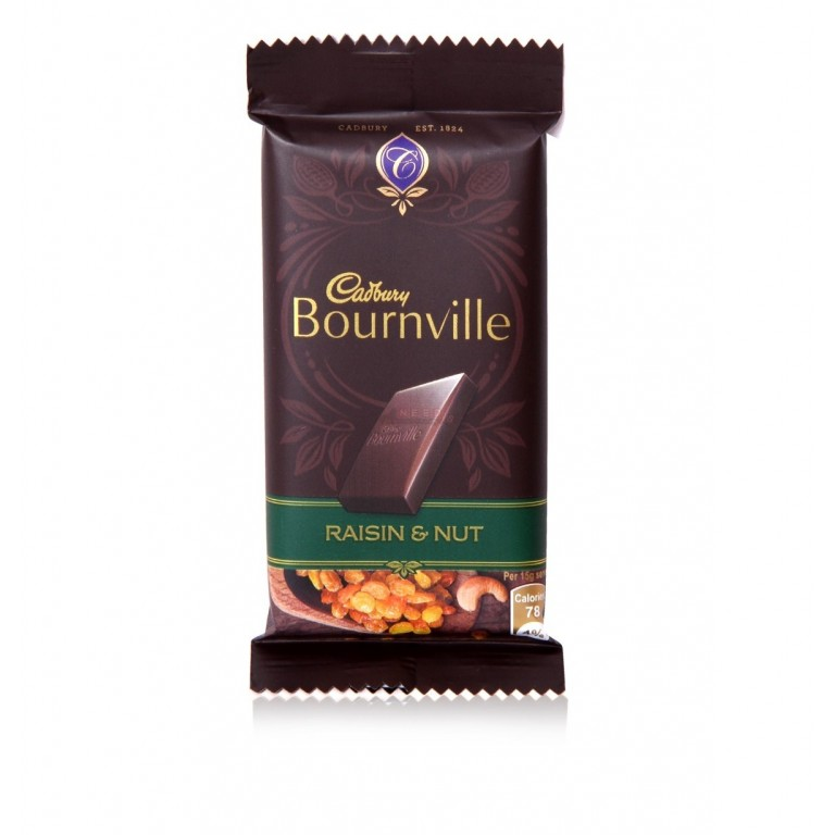 Cadbury Bournville Raisin & Nut 31gm Chocolate