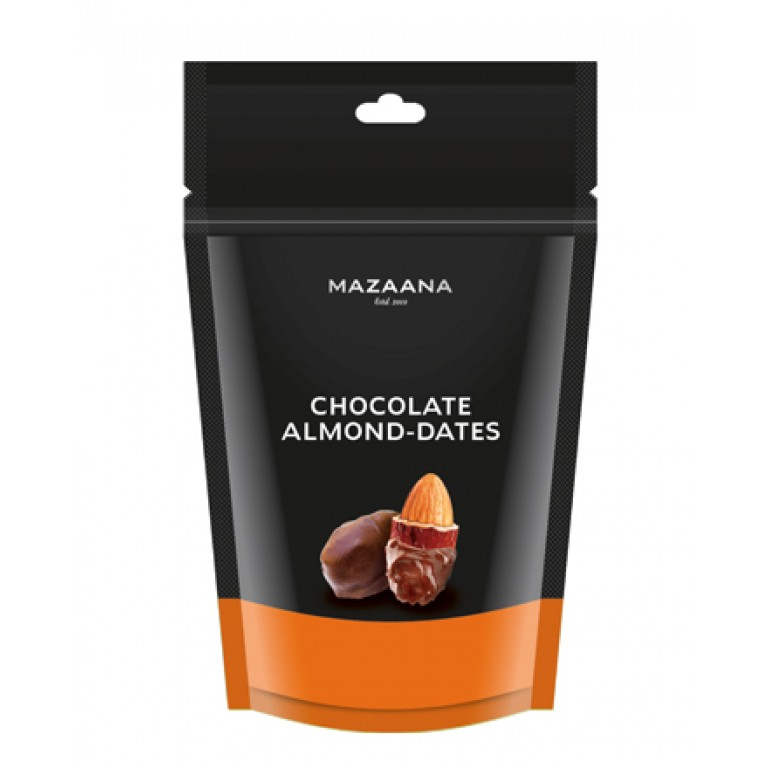 Mazaana Chocolate Almond Dates100gm