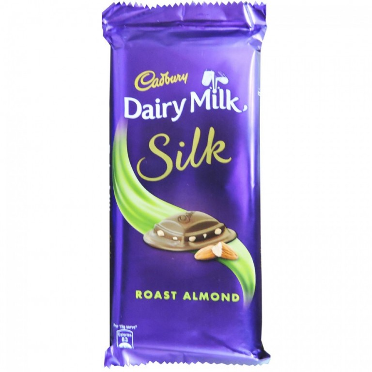 Cadbury Dairy Milk Silk Roast Almond  55gm