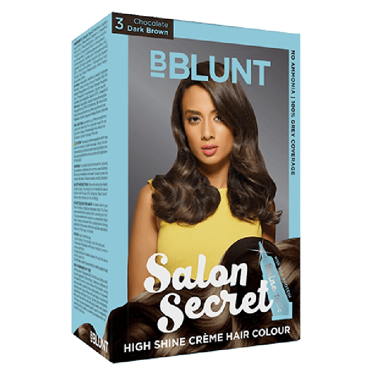 b-blunt dark Brown 3=100g+8ml