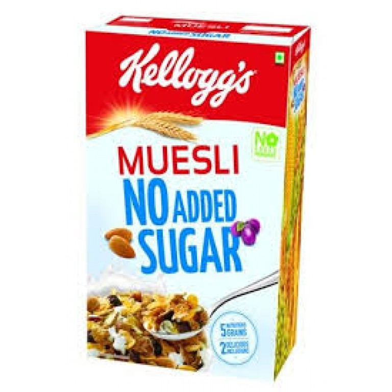 kellogg's muesli no added sugar 500g