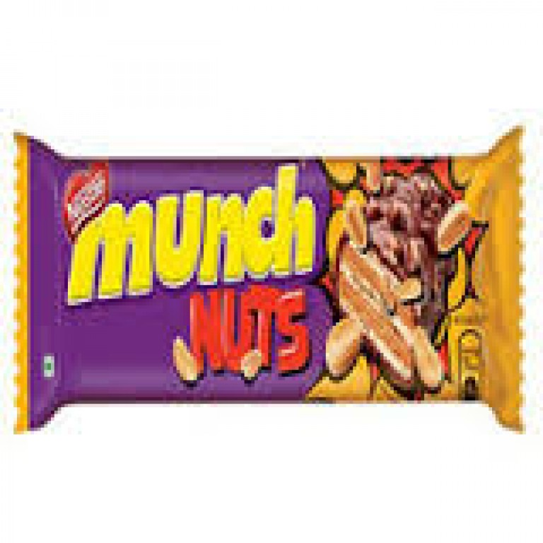 Nestle munch nuts 32g chocolates