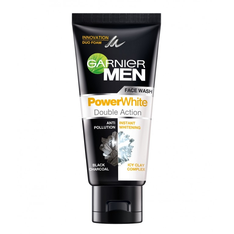 Garnier power white double action