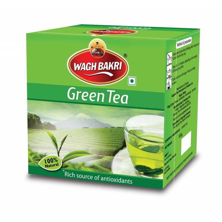 Wagh bakri green tea 100g