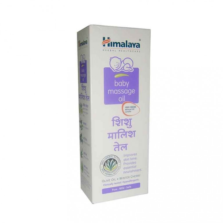Himalaya baby massage oil 50ml