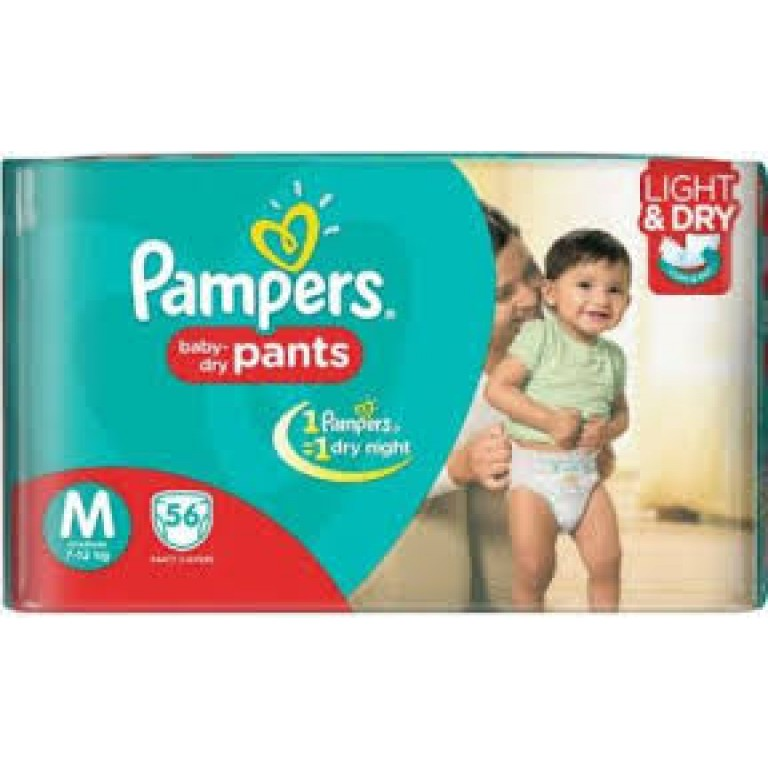 Pampers baby Pants M-56