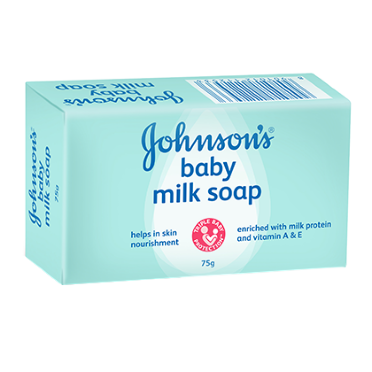 Johnson's baby milk soap 75gm