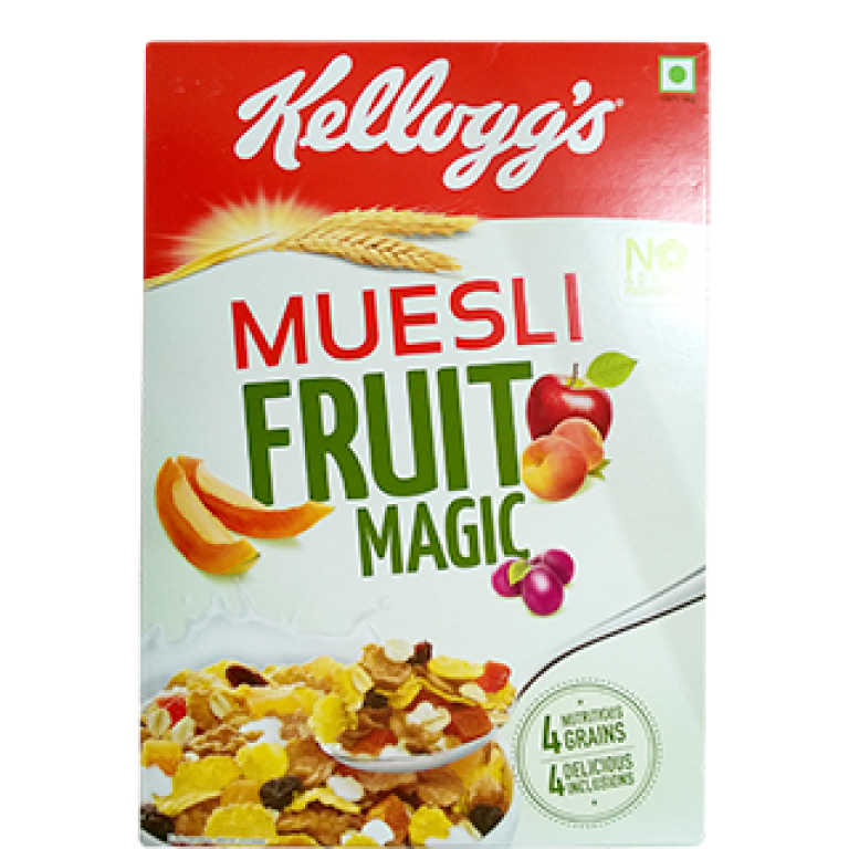 kellogg's muesli fruit magic 500g