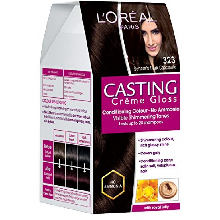 Loreal casting CG D brown = 21g+24ml