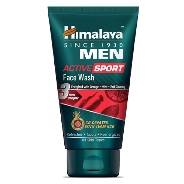 HImalaya  Men Face wash active 50ml
