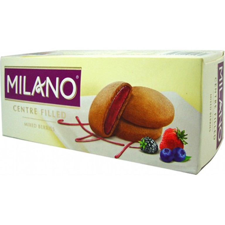 milano centre filled mixed berries 75gm