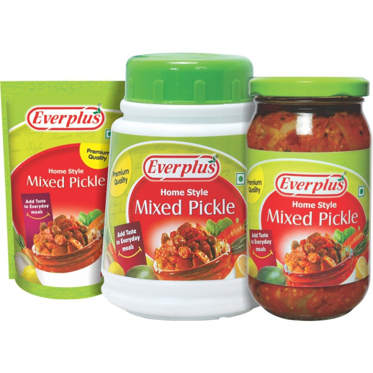 Everplus Home Style MIxed Pickle 1Kg