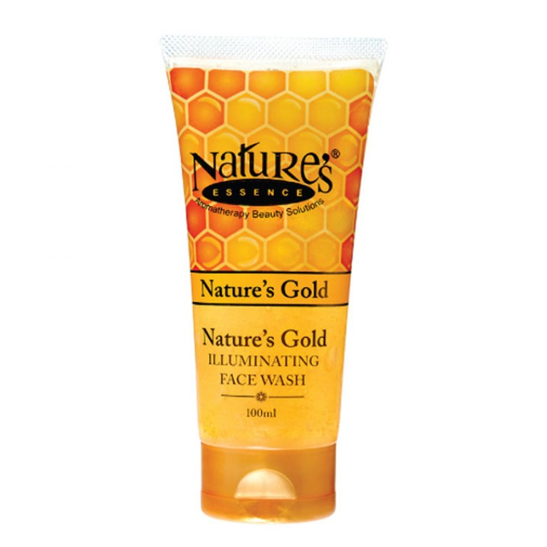 nature's gold illuminating face wash