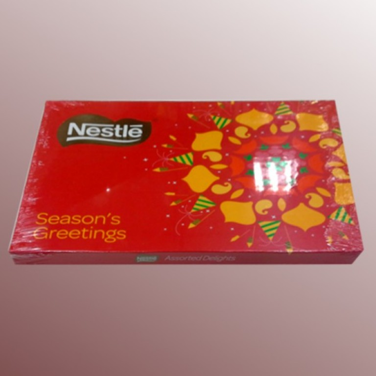 Nestle festive greeting