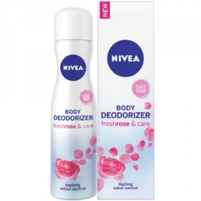 Nivea body deo freshrose & care