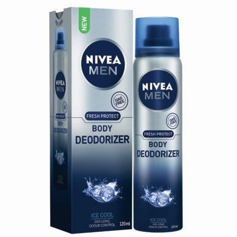 Nivea Men Body Deoderizer Ice Cool 120ml