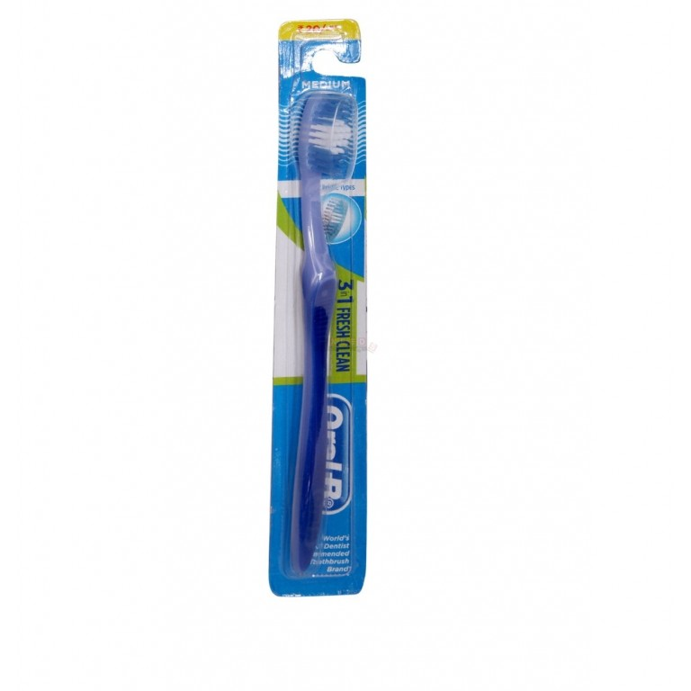 Oral - B 3 in 1 Fresh Clean Soft on Gums Tooth Brush