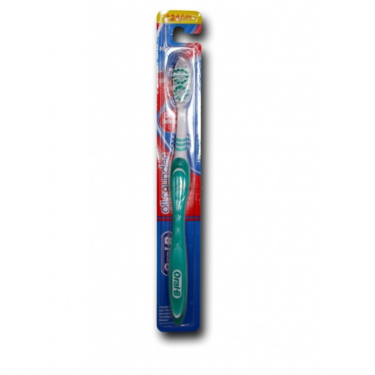 Oral - B All Rounder Cavity Defense 123 Tooth Brush