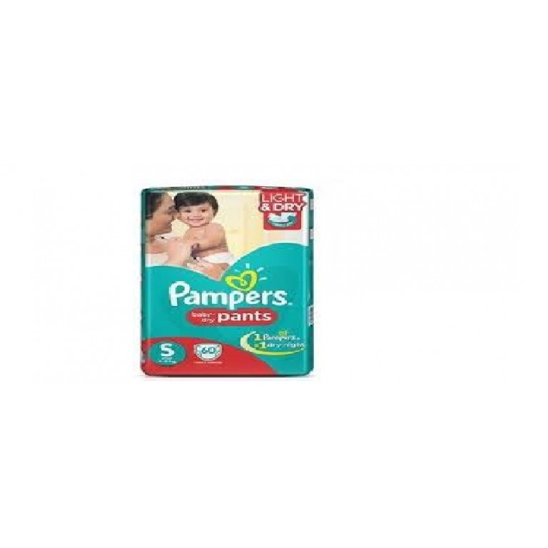 Pampers S 60pants