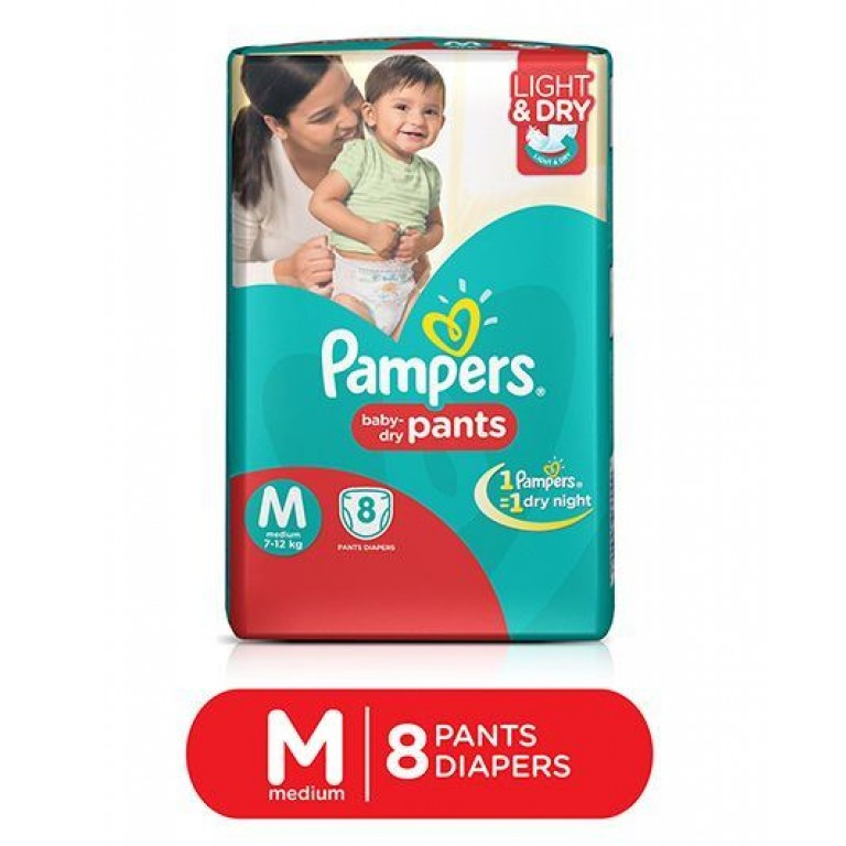 Pampers baby Pants M-8 pants