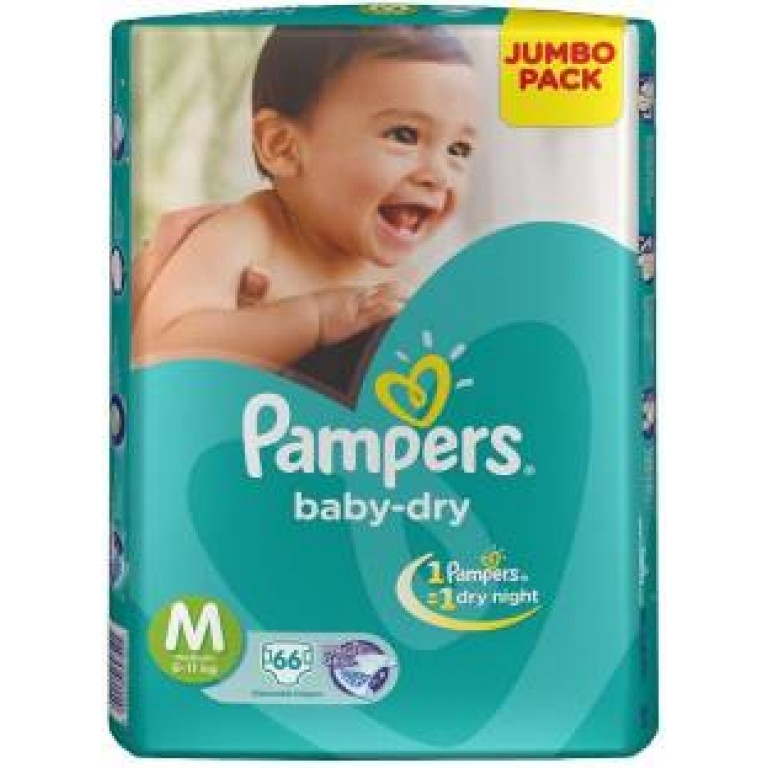 Pampers Diapers M-66